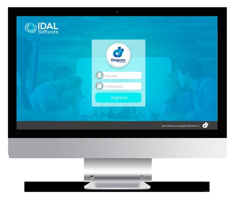 pantalla Idal Software Login