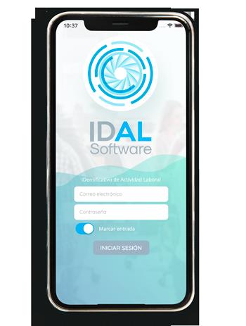 IDAL - app para el control de tiempos laborales