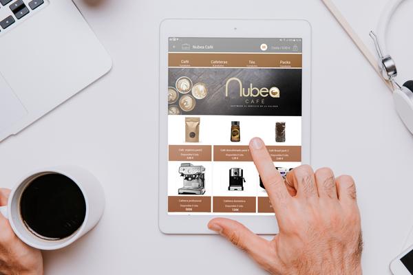 Software para la fabricación de café y té conexión con la aplicación de SAT dScarlet