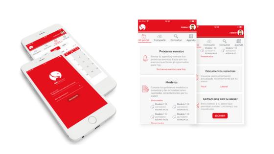 APP portal asesor - nuevas tecnologías marketing para asesorías