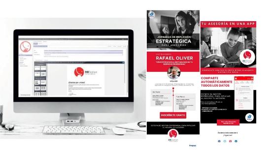 táctica de marketing para asesorías email portal asesor