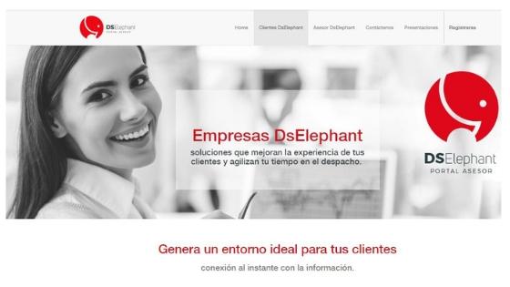 marketing para asesorías - web portal asesor